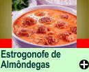 STROGONOFF DE ALMÔNDEGAS