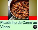 PICADINHO DE CARNE AO VINHO