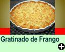 GRATINADO DE FRANGO