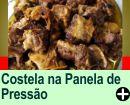 COSTELA FEITA NA PANELA DE PRESSÃO