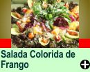 SALADA COLORIDA DE FRANGO
