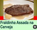 FRALDINHA ASSADA NA CERVEJA