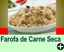 FAROFA DE CARNE SECA