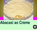 ABACAXI AO CREME