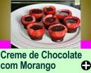 CREME DE CHOCOLATE COM MORANGO