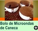 BOLO DE MICROONDAS DE CANECA