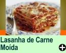 LASANHA DE CARNE MOÍDA