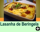 LASANHA DE BERINGELA