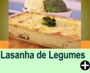 LASANHA DE LEGUMES