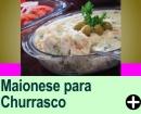 MAIONESE PARA CHURRASCO
