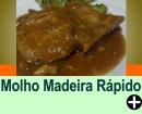 MOLHO MADEIRA RÁPIDO