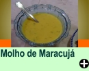MOLHO DE MARACUJÁ