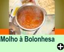 MOLHO À BOLONHESA