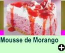 MOUSSE DE MORANGO
