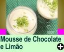 MOUSSE DE CHOCOLATE E LIM�O