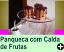 PANQUECA COM CALDAS DE FRUTAS