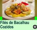 FILÉS DE BACALHAU COZIDOS
