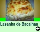 LASANHA DE BACALHAU