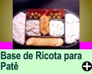 BASE DE RICOTA PARA PATÊ