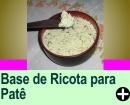 PATÊ DE RICOTA