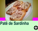 PATÊ DE SARDINHA