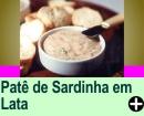 PATÊ DE SARDINHA EM LATA