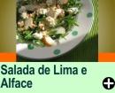 SALADA DE ALFACE, PÊRAS E NOZES