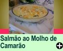 SALMÃO AO MOLHO DE CAMARÃO