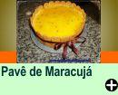 PAVÊ DE MARACUJÁ
