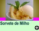 SORVETE DE MILHO