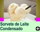 SORVETE DE LEITE CONDENSADO