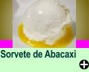 SORVETE DE ABACAXI