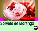 SORVETE DE MORANGO