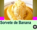 SORVETE DE BANANA