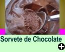 SORVETE DE CHOCOLATE