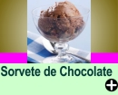 SORVETE DE CHOCOLATE