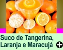 SUCO DE TANGERINA, LARANJA-LIMA E MARACUJÁ