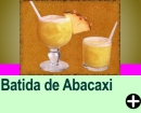 BATIDA DE ABACAXI